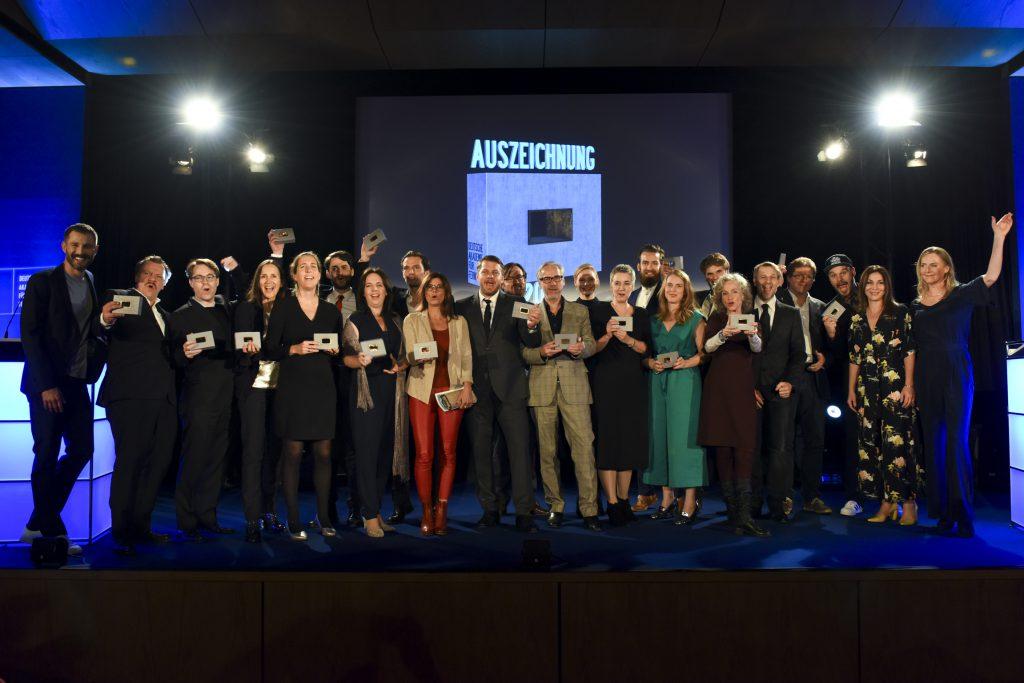 Gruppenbild aller Preisträger der DAfF-Auszeichnungen 2017