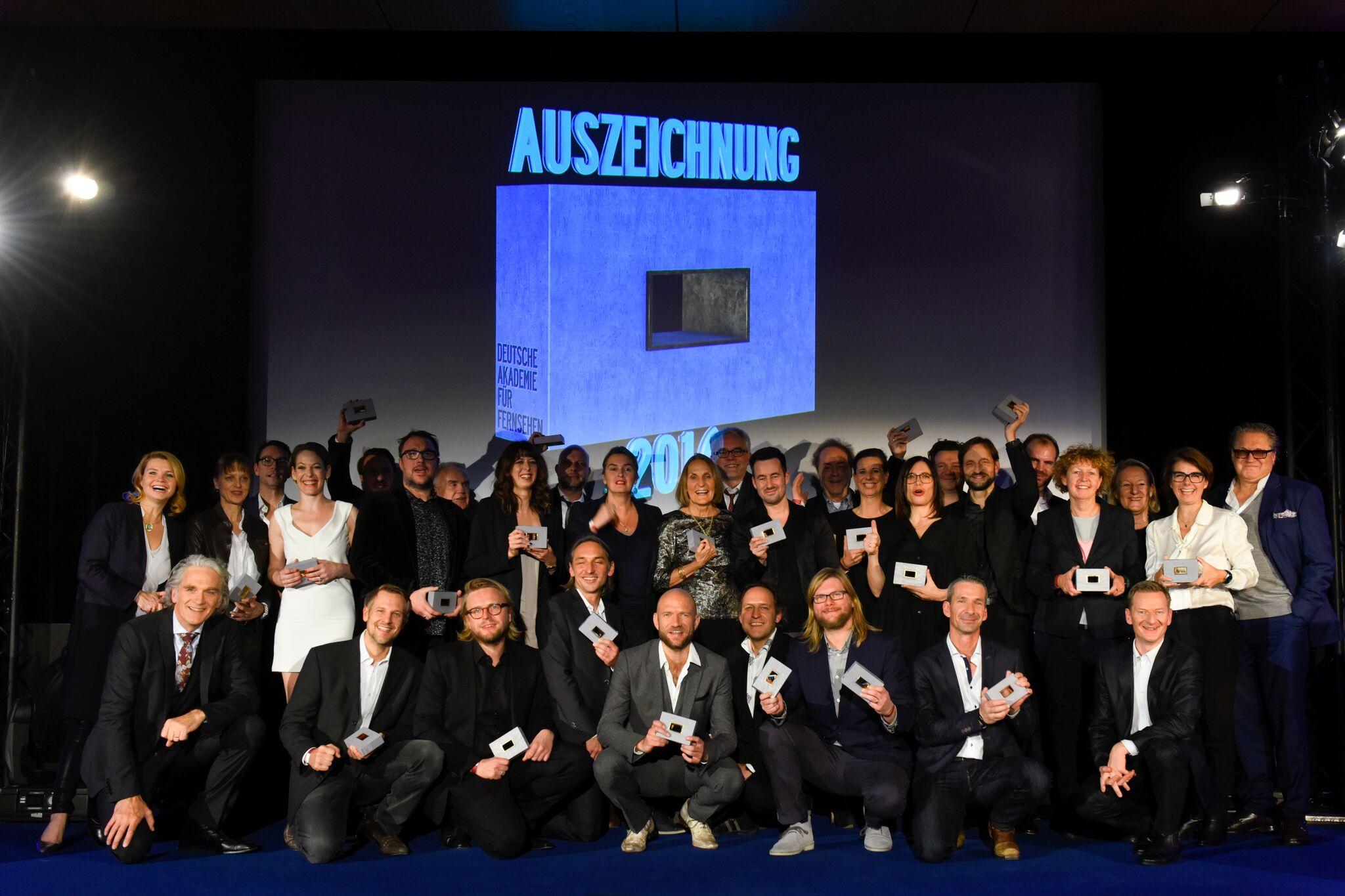DAfF-Auszeichnungen 2016 Gruppenbild der Preisträger