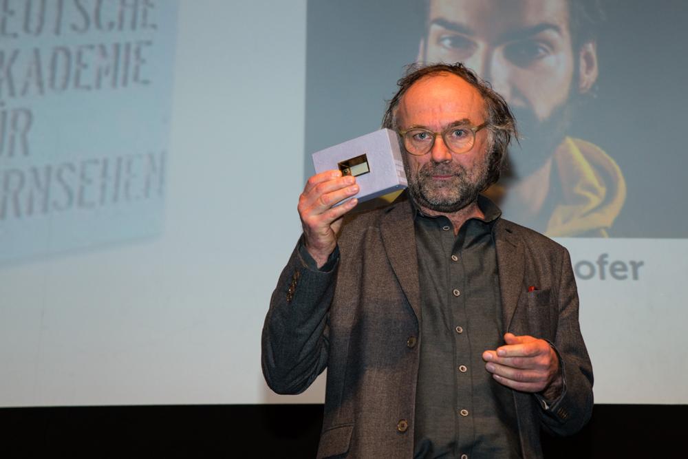 Heiko Schmidt, Maskenbild (Babylon Berlin) hält Preis nach oben